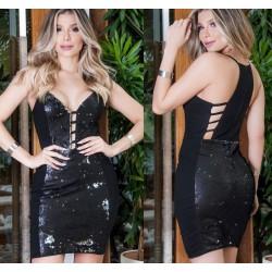 Vestido paete new 438633